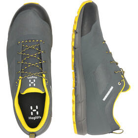 Haglöfs L.I.M Proof Eco Low Shoes Herre magnetite/signal yellow